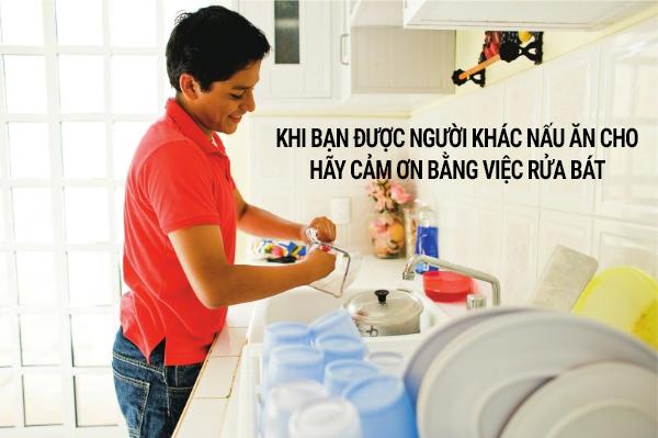 Rửa chén